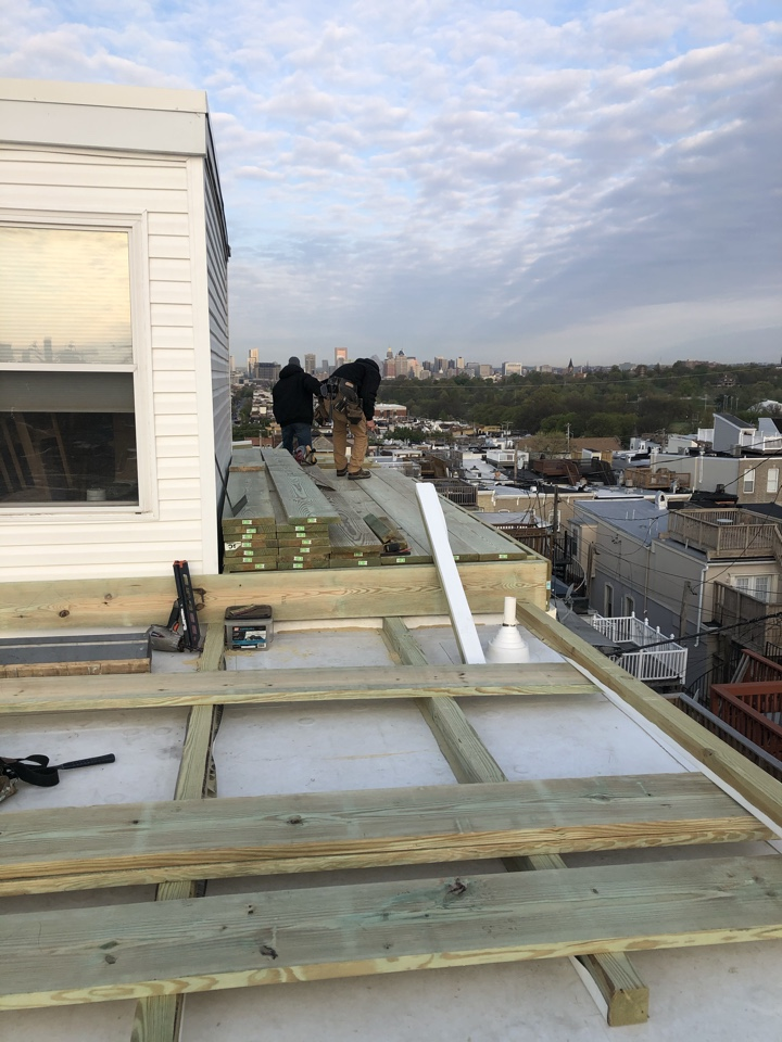 Baltimore, MD - Ongoing roof top deck replacement