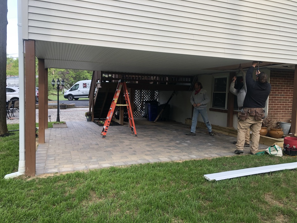 Clarksville, MD - Potential job for screened in porch project