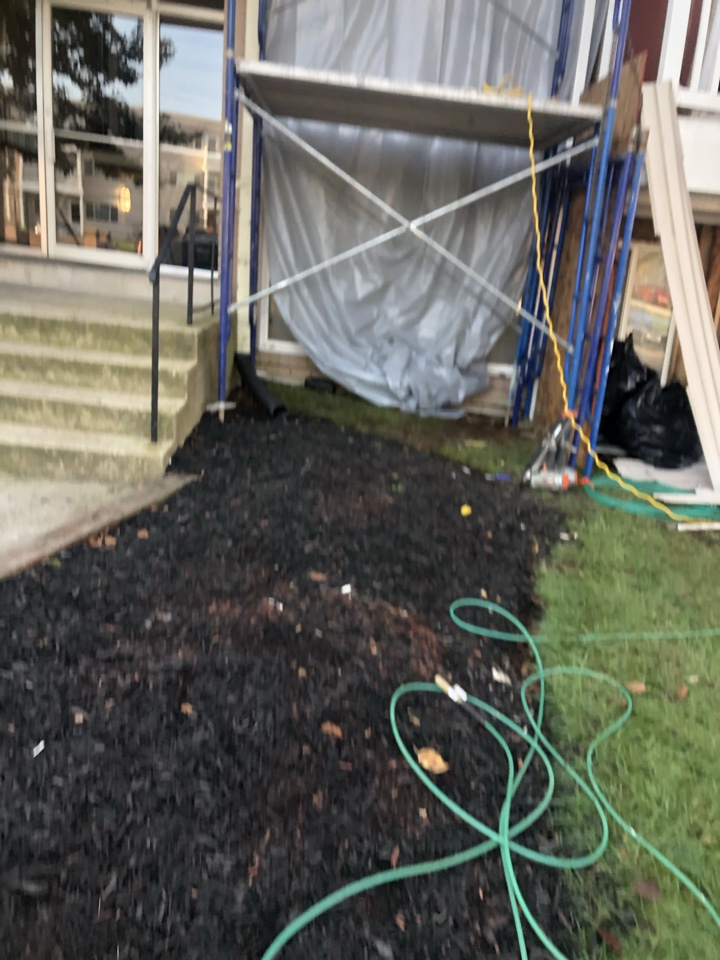 Forest Heights, MD - Siding repair due to water penetration