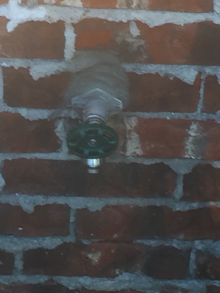 Wylie, TX - Frostproof outside faucet on left side of home and backyard is leaking and not shutting off all the way. Install new frostproof with mortar. Wylie plumbers