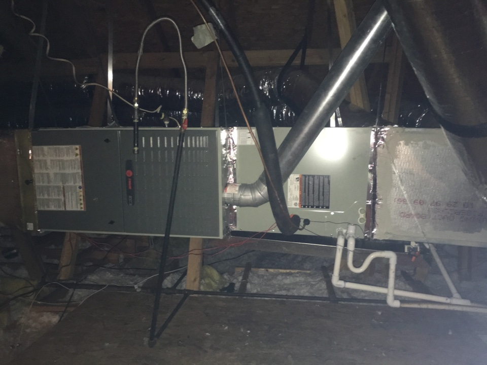 Grand Prairie, TX - Inspecting XR16 complete horizontal gas Install