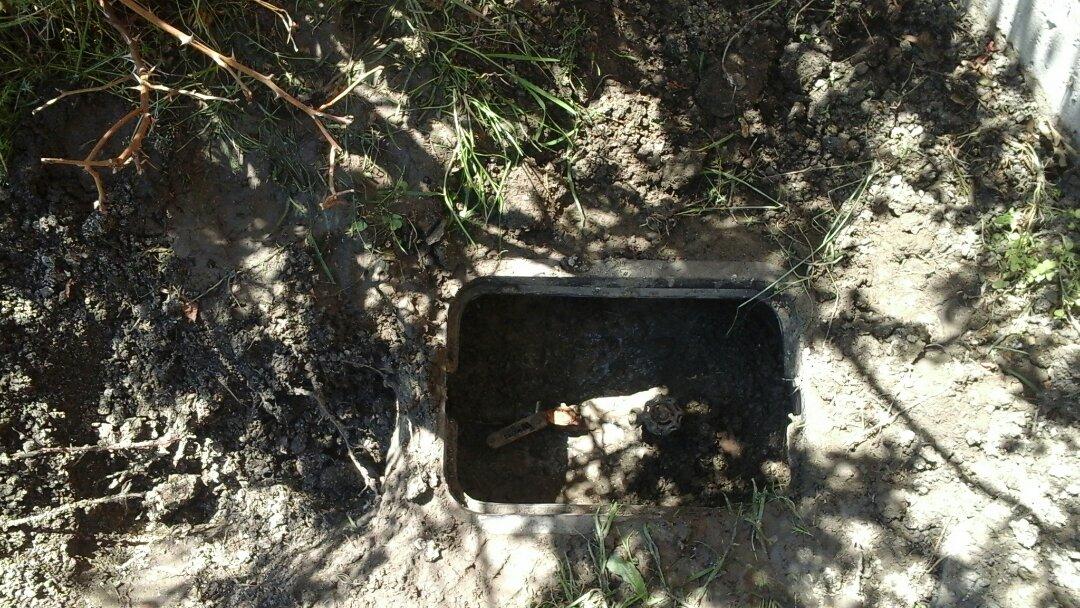 Waxahachie, TX - Water leak in yard