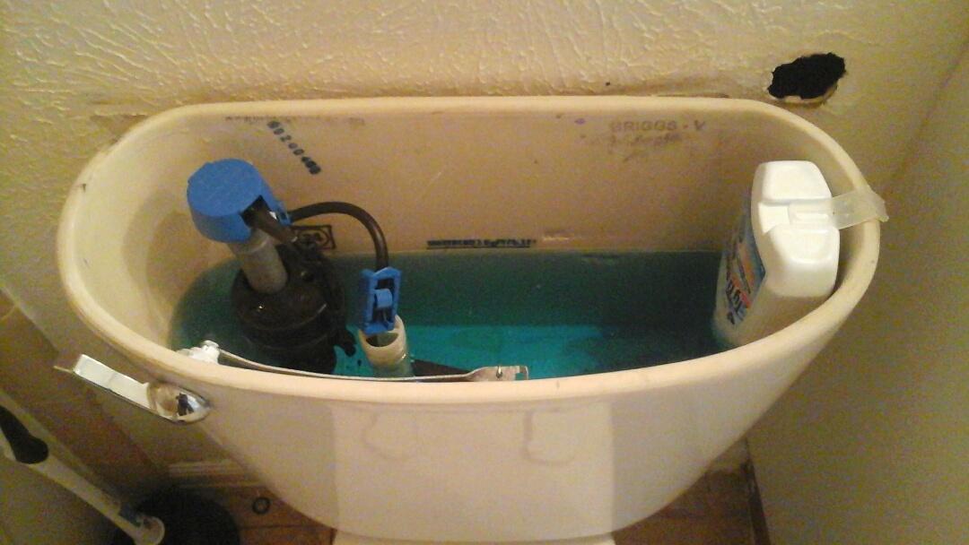Waxahachie, TX - Leaking toilet