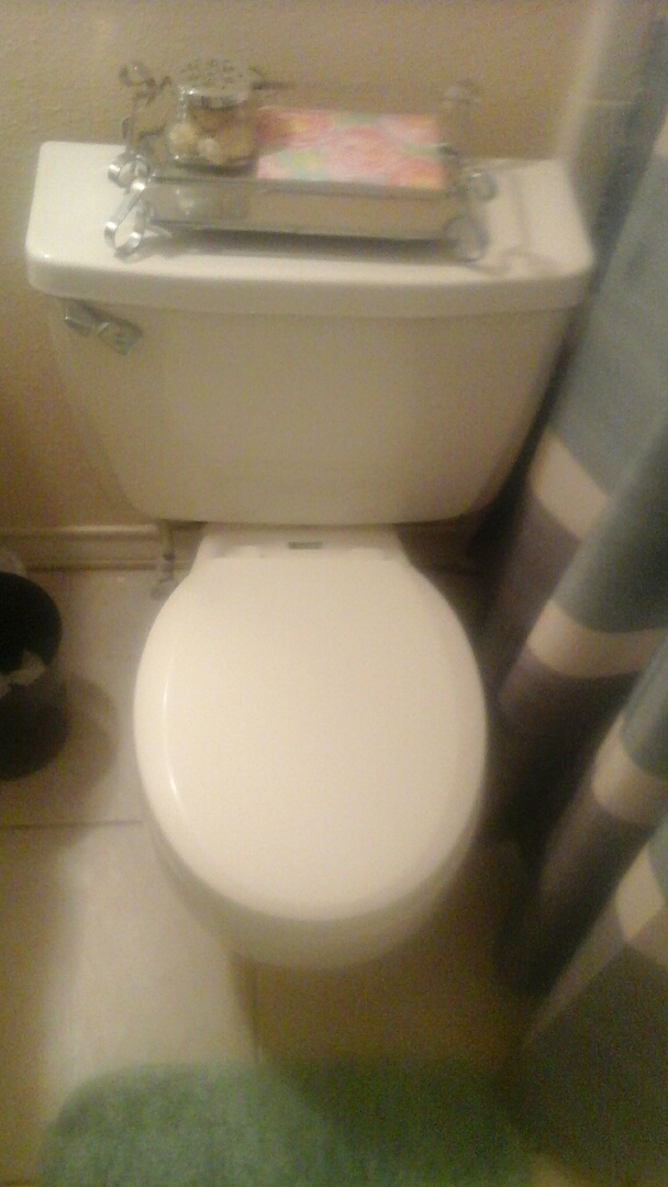 DeSoto, TX - Toilet leaking from base