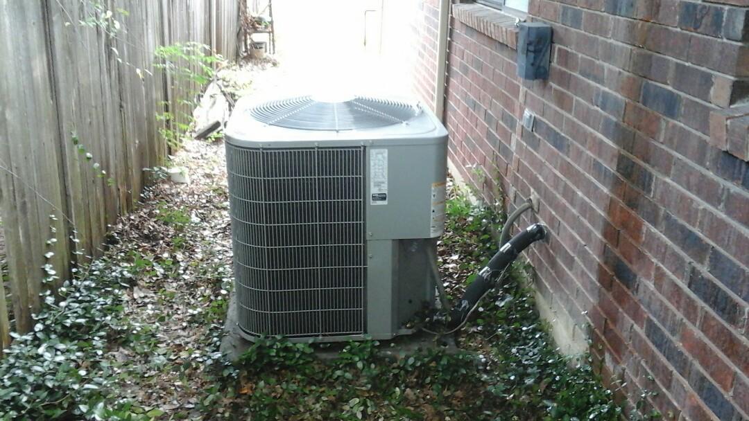 Cedar Hill, TX - AC no cool, replace compressor