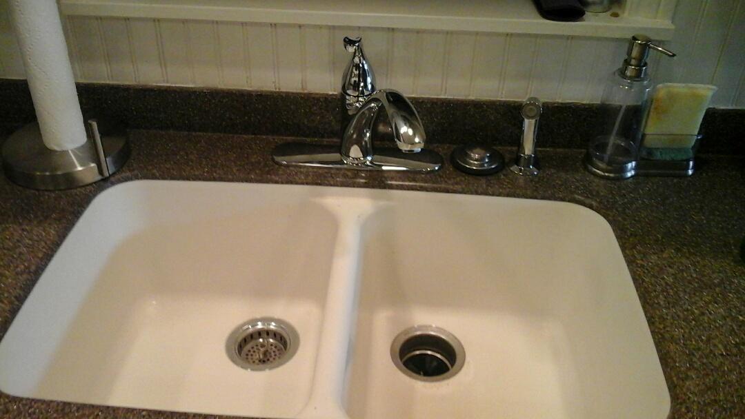 DeSoto, TX - Install kitchen faucet