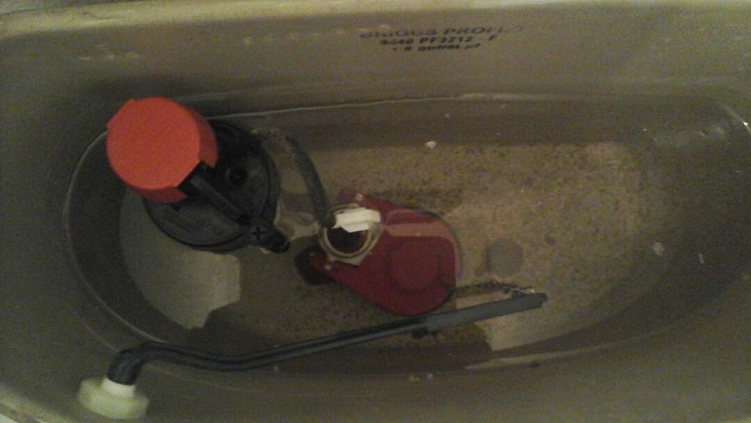 DeSoto, TX - Toilets leaking