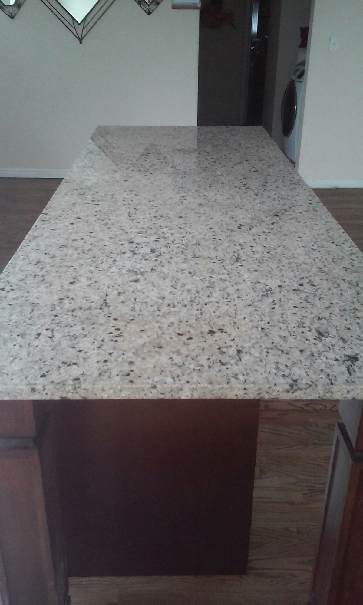 Ogden, UT - Granite Countertop Cleaning sealing and polishing in Ogden, Utah.  We recently added this service to our many other services that we clean.  Look how shiny and new that turned out! www.mrcd.com 801-298-8125