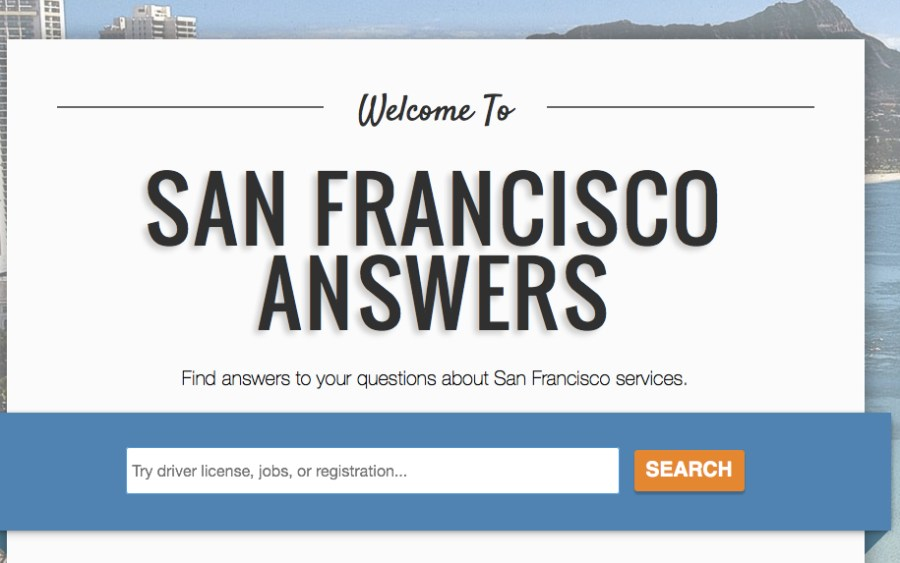 SFO Answers app