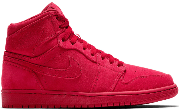Air Jordan 1 Retro High Suede Gym Red