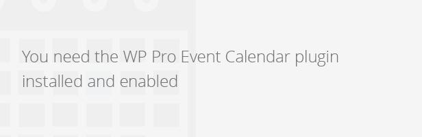 Wordpress Pro Event Calendar - Payment Extension - 1