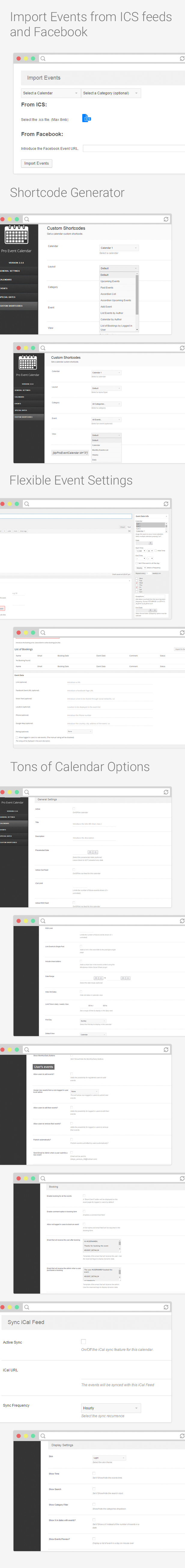 WordPress Pro Event Calendar - 2
