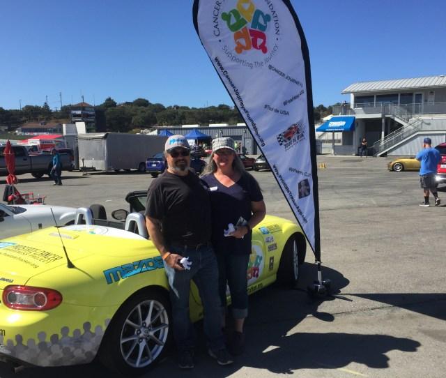 The Cancer Journeys Foundation Mazda Miata At Mazda Raceway