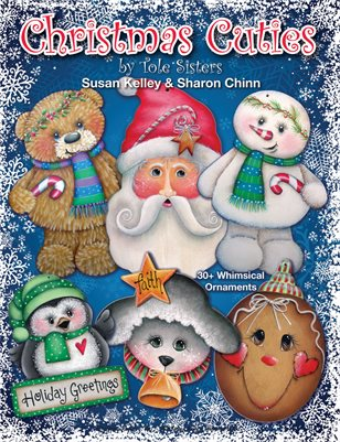 Christmas Cuties Painting Pattern Book by Sharon Chinn & Susan Kelley KSCS001
