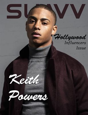 SUAVV Magazine Hollywood Influencer Issue Keith Powers Cover