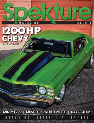 Spekture - Issue 1- 1971 Chevelle Cover