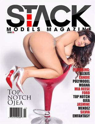 Stack Models Magazine Issue 25 Top notch Ojea Cover