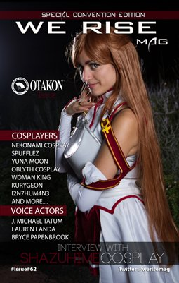 We Rise Mag Otakon 2015 Edition Issue#62