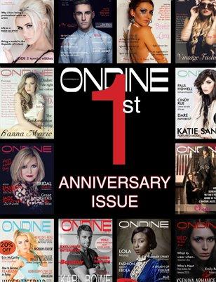 Ondine 1 year anniversary