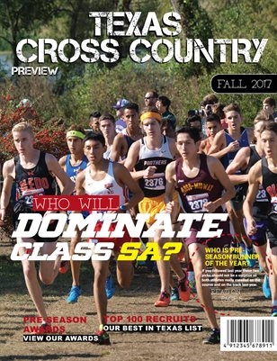 2017 Texas Cross Country Preview - 5A