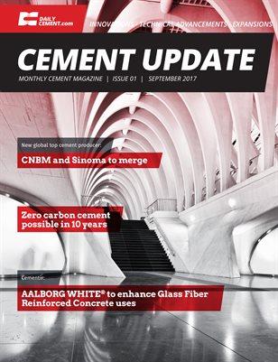 Cement Update - Issue 1