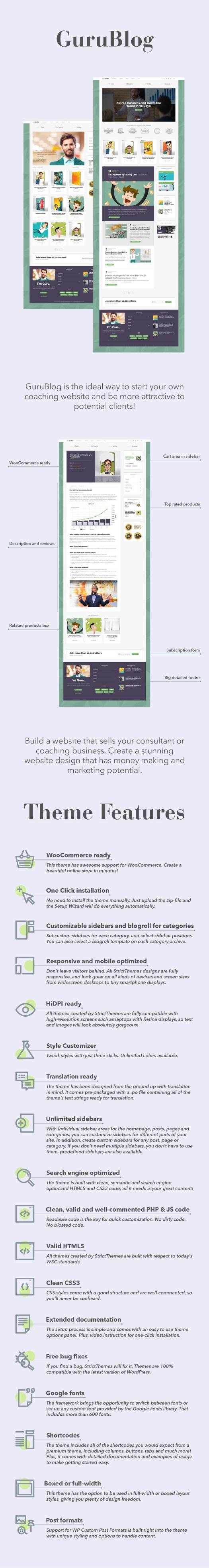 GuruBlog - Blog & Shop for Experts