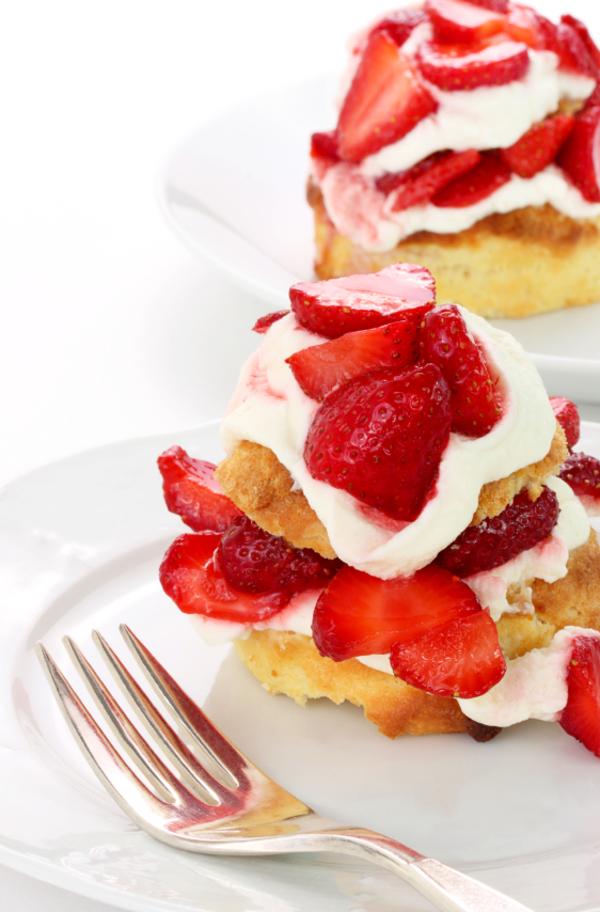 Traditional Strawberry Shortcake Recipe