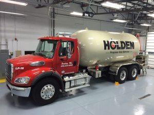 Holden Oil Propane Truck | Large Format Print | Medford, MA
