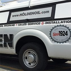 Holden Oil Service Truck | Large Format Print | Medford, MA