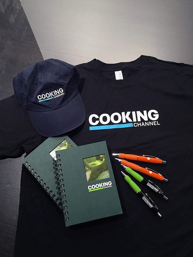 The Cooking Channel | Promo Items and Apparel