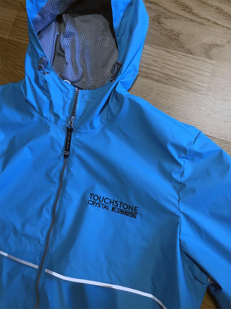 Touchstone Crystal by Swarovski   Rain Jacket