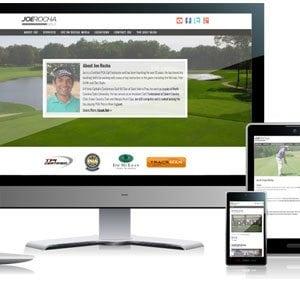 Joe Rocha Golf | Responsive Website Design