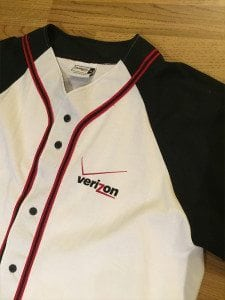 Verizon Baseball TShirt
