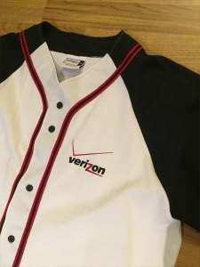 Verizon Baseball TShirt