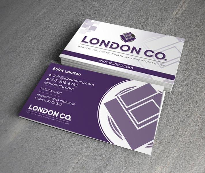ELondon Co. Business Card