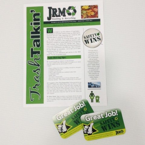 JRM Newsletter and Cards