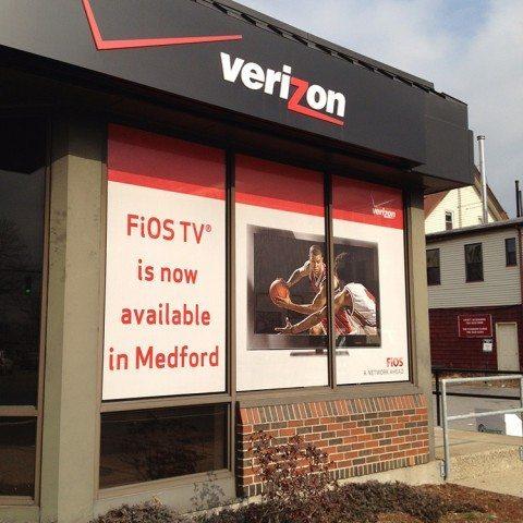 Verizon Wireless Exterior Signage - Malden, MA