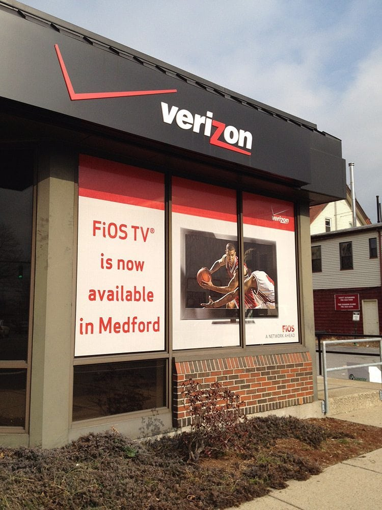 Verizon Wireless Exterior Signage - Malden, MA
