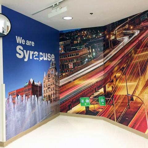 Verizon We Are Syracuse Wall Mural