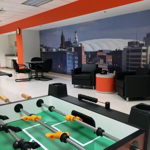 Syracuse University Rec Room