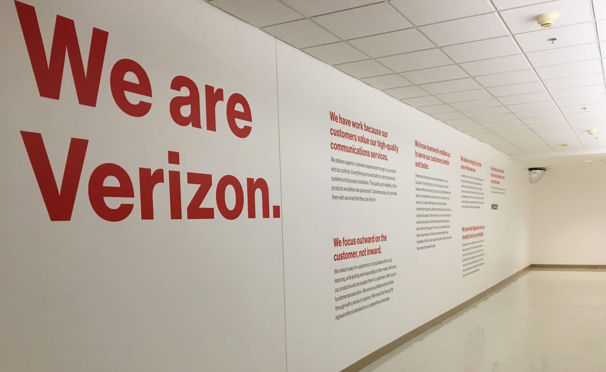 Verizon Wall Credo | Verizon Syracuse