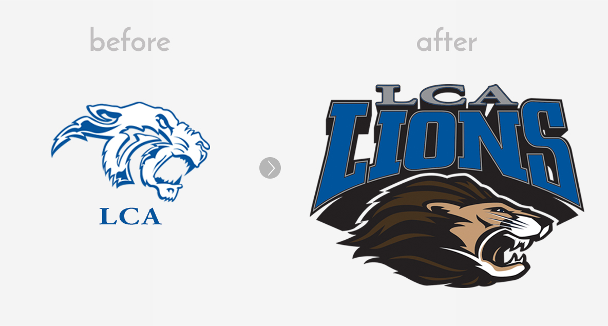 LCA Logo Design | Before & After | Logo Design | Medford, MA