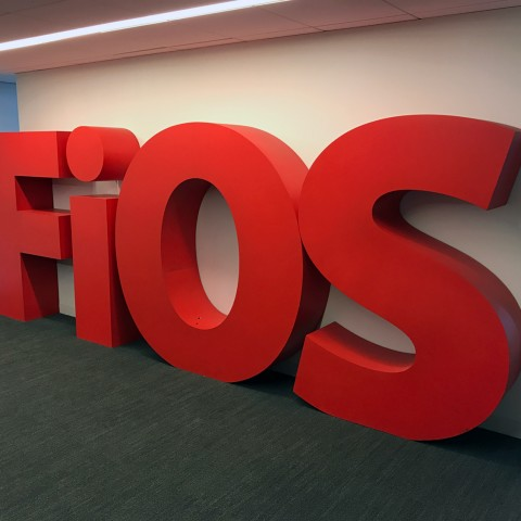 FIOS Block Lettering