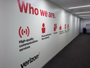 Verizon   Who We Are   Large Format Print   Medford, MA