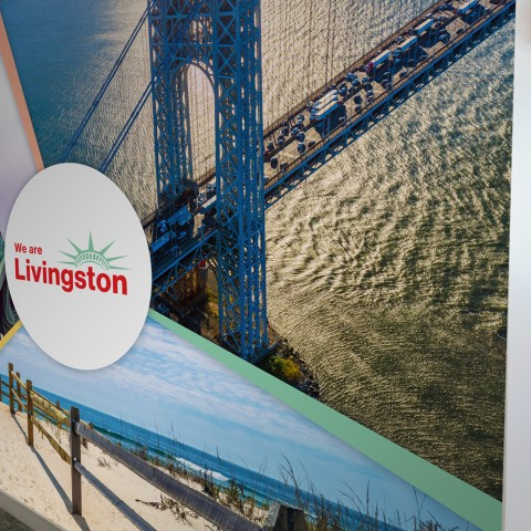 We Are Livingston Wall Mural