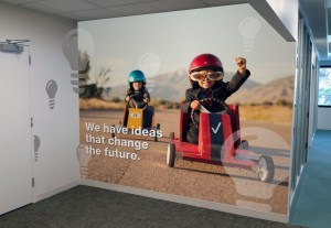 Change the Future Mural | Large Format Print | Medford, MA - Boston, MA