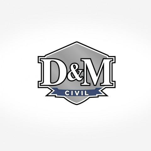 D&M Civil Logo