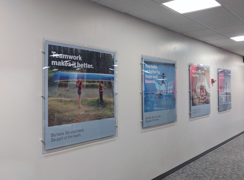 Verizon Philadelphia 4x4 Acrylic Frames & Posters