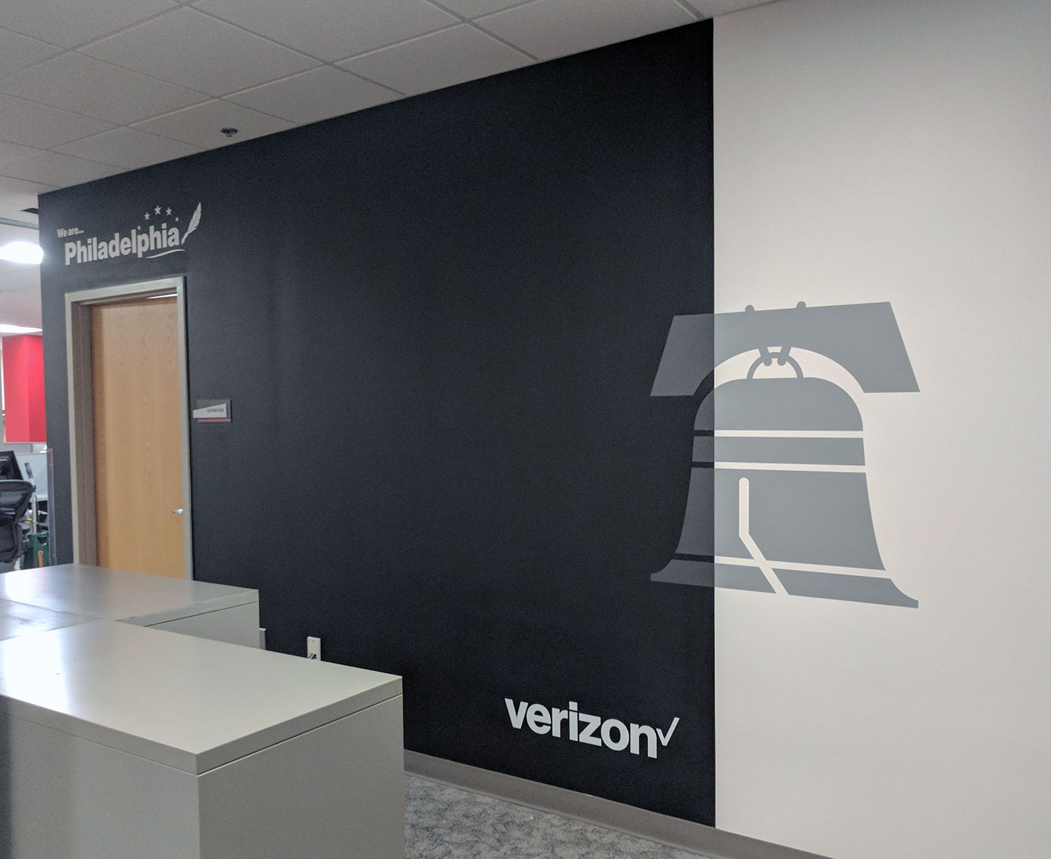Verizon Philadelphia Liberty Bell Chalk Board