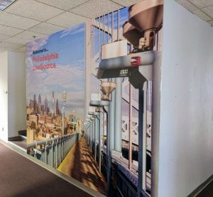 Verizon Philadelphia Mural | Large Format Print | Boston, Medford